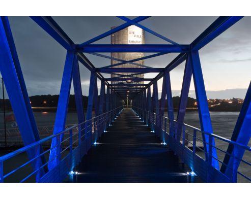 Cité de la voile Eric Tabarly Lorient ARCHITECTE :  J. Ferrier   Ingénieurs associés INGENIERIE: Cera  ELECTRICITE : Snere